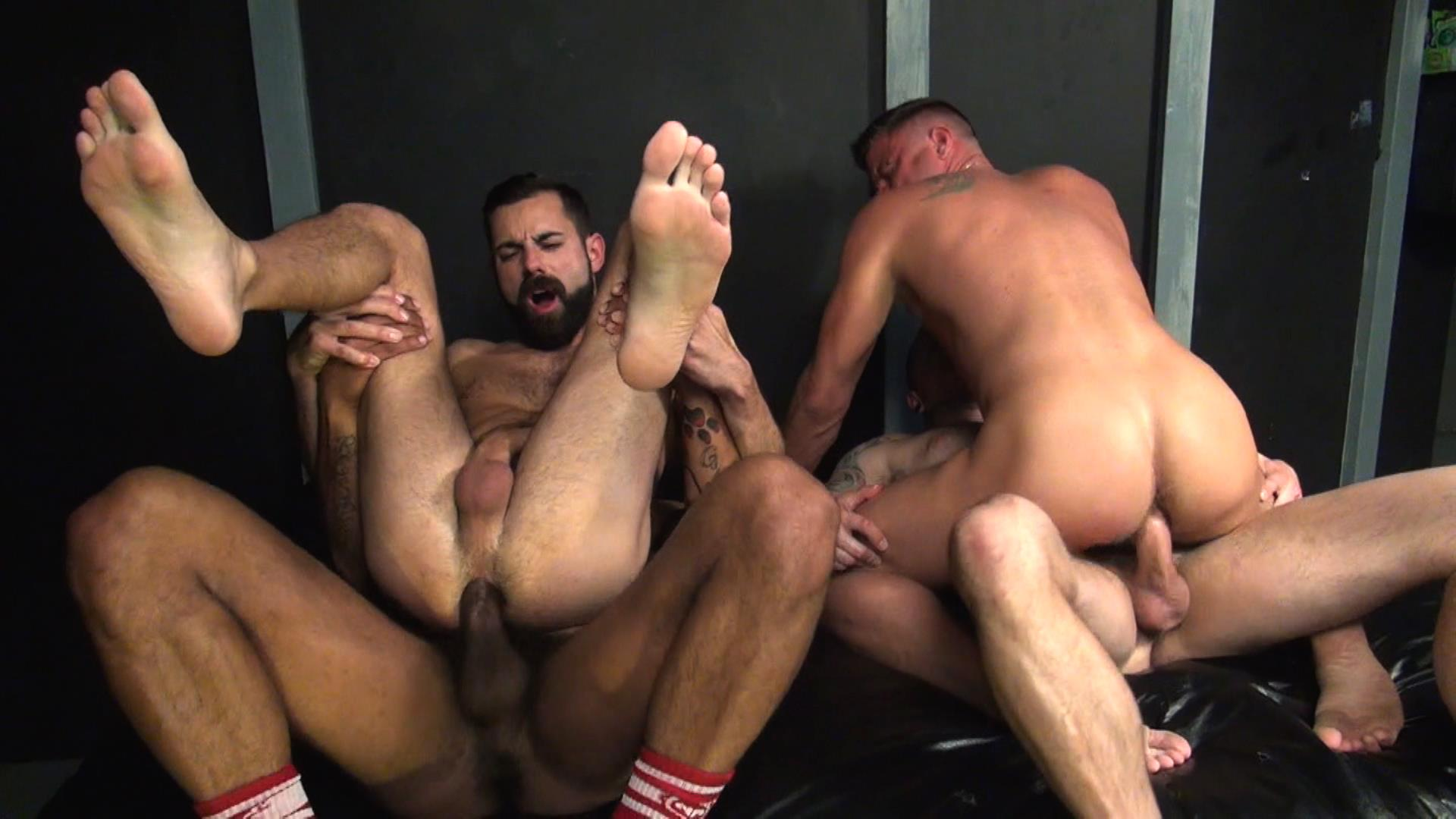 Raw Fuck Club Raw Fuck Club Max Cameron and Christian Matthews and Kory Mitchel and Dean Brody Bareback Bathhouse Amateur Gay Porn 8 Four Way Bareback Fucking And Cum Fest At The Bathhouse