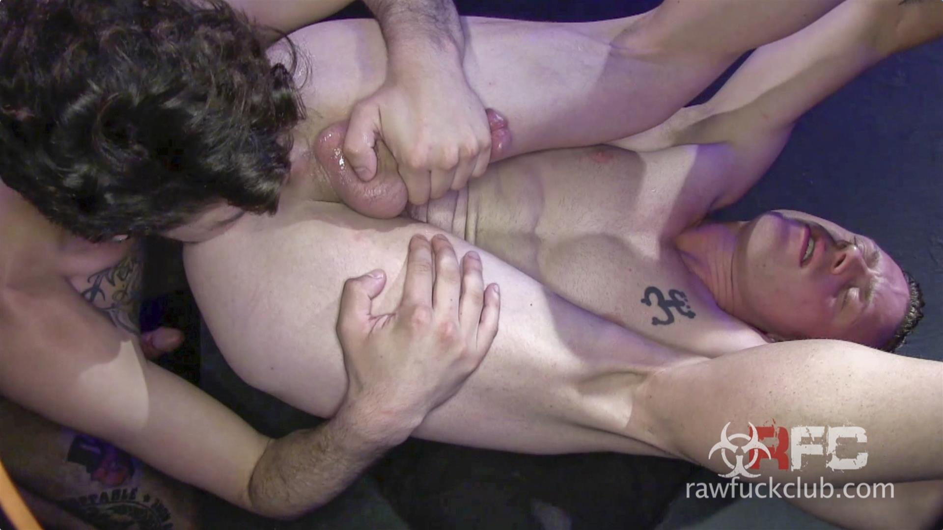 Raw Fuck Club Saxon West and Luke Harding Big Dick Bareback Sex Amateur Gay Porn 6 Luke Harding Breeding Saxon Wests Muscular Ass