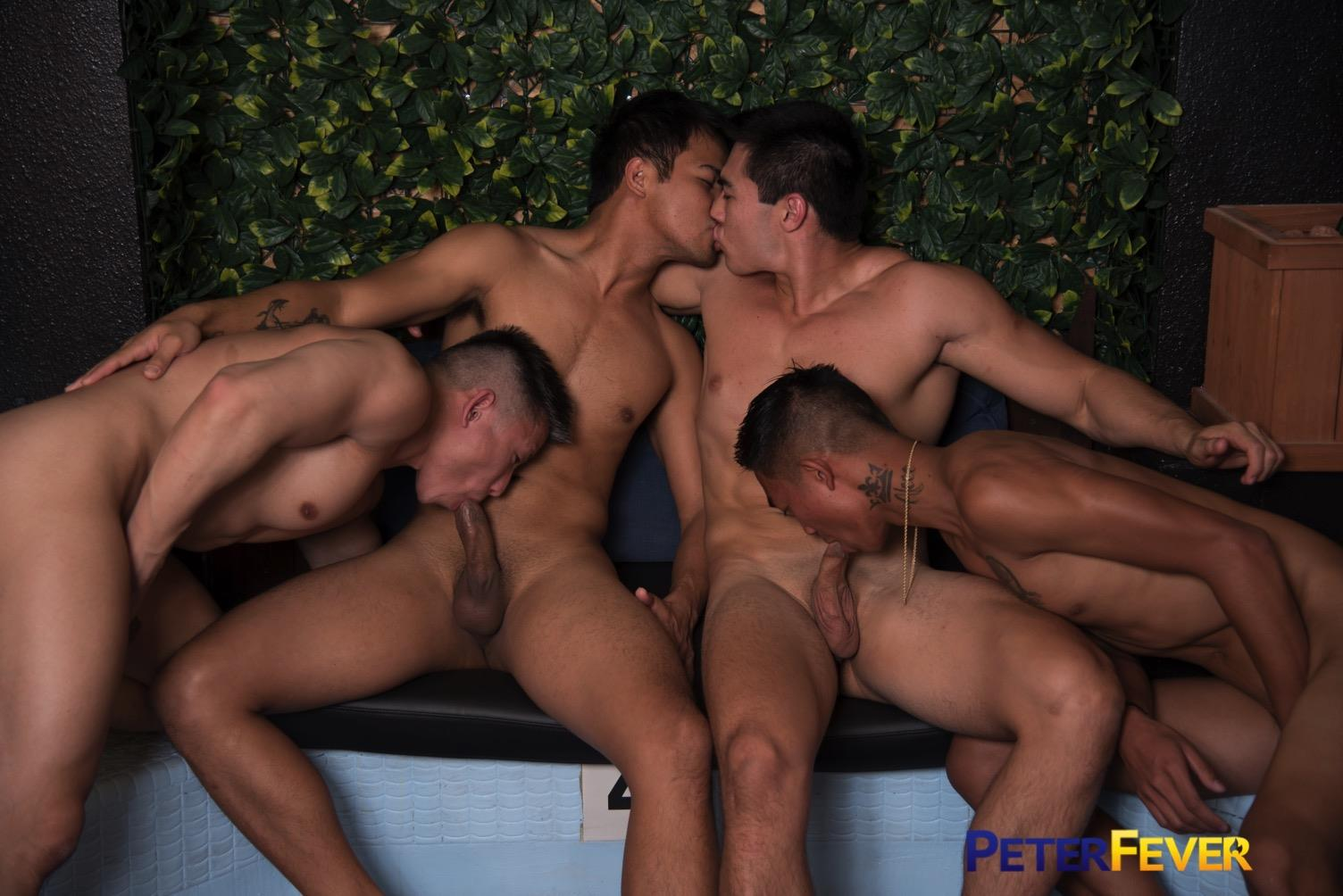 Peter-Fever-John-Rene-and-Alec-Cruz-and-Axel-Kane-and-Jessie-Lee-Big-Asian-Cocks-12 Impromptu Asian Orgy At An Asian Bathhouse